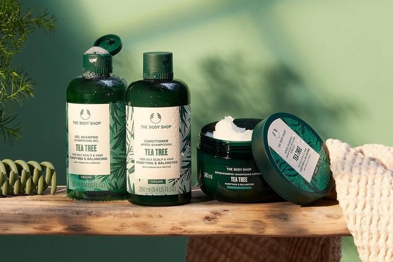 Tea Tree haircare range
