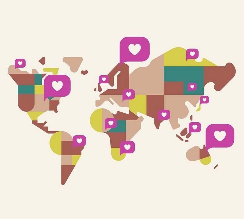 SELF LOVE WORLD MAP