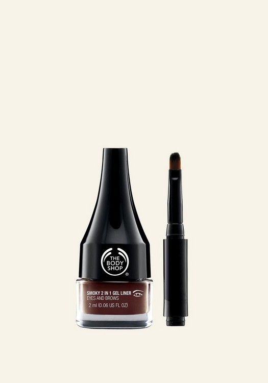 Smoky 2-In-1 Gel Eyeliner and Brow Definer Brown