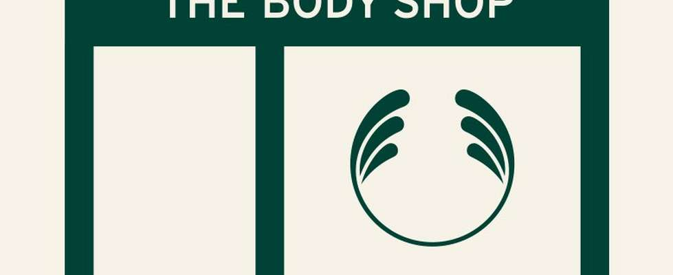 Illustration of The Body Shop store