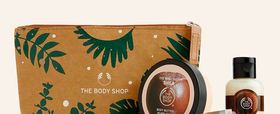 Neceser de regalo de Navidad de The Body Shop