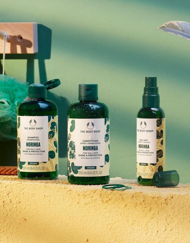 Moringa hair care range