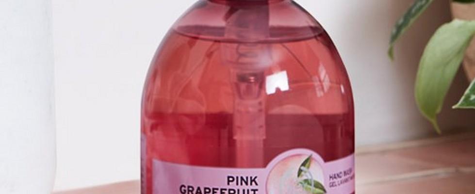 Jabón de Manos Líquido de Pomelo Rosa