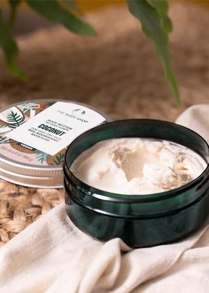 Die Coconut Body Butter von The Body Shop