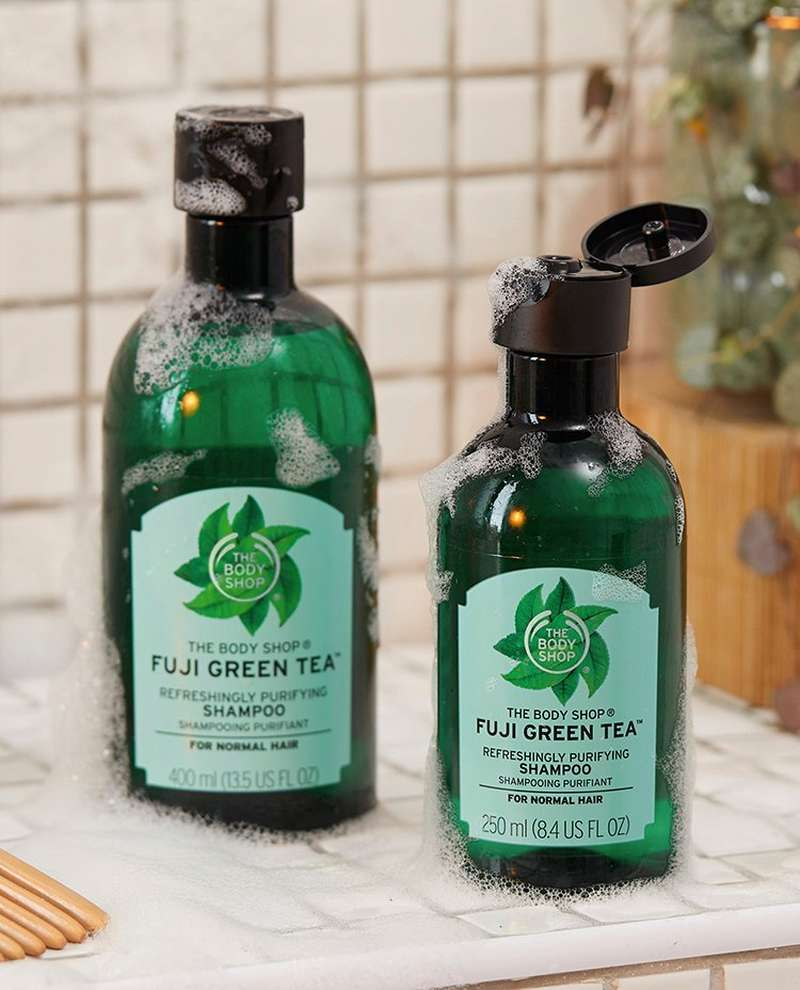 Fuji Green Tea Shampoo and conditioner