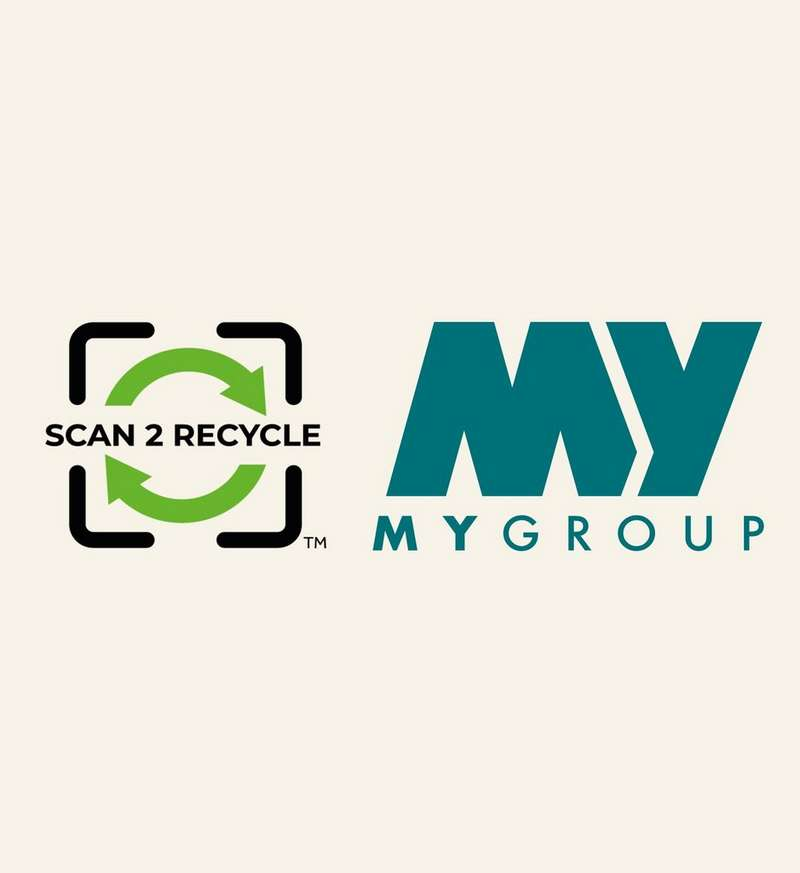 Scan2Recycle and MyWaste group logo