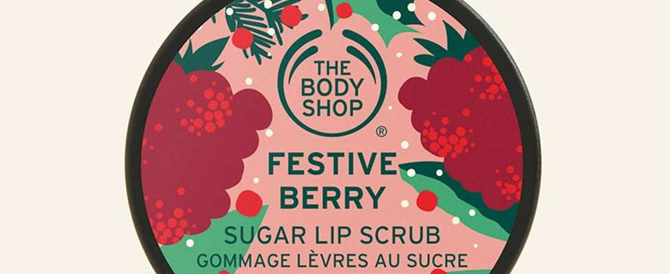 Festive Berry Lip Scrub