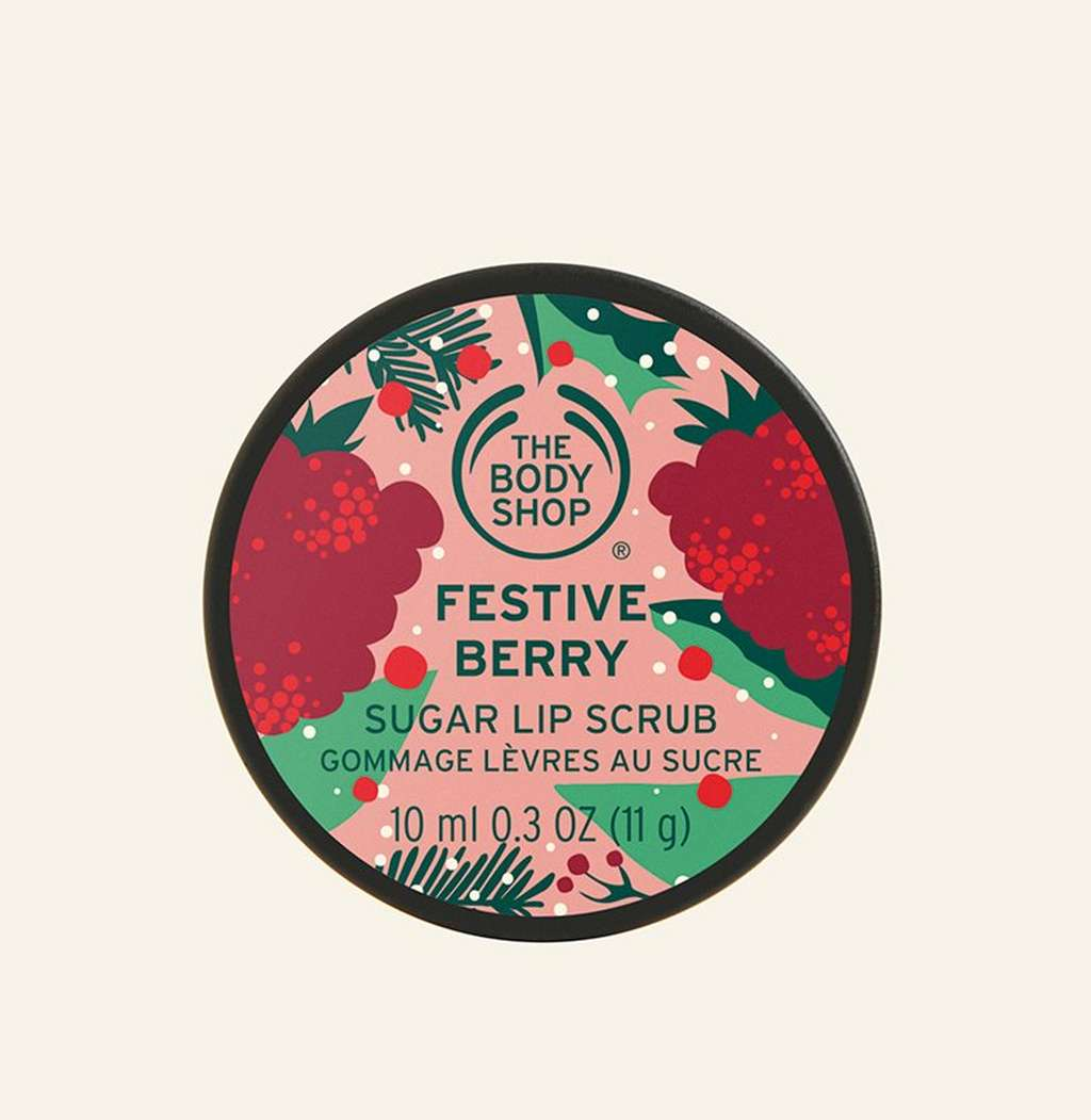 Festive Berry Lip Scrub