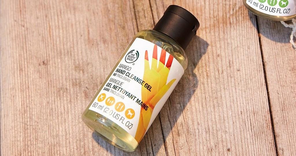 Mango hand cleanse gel