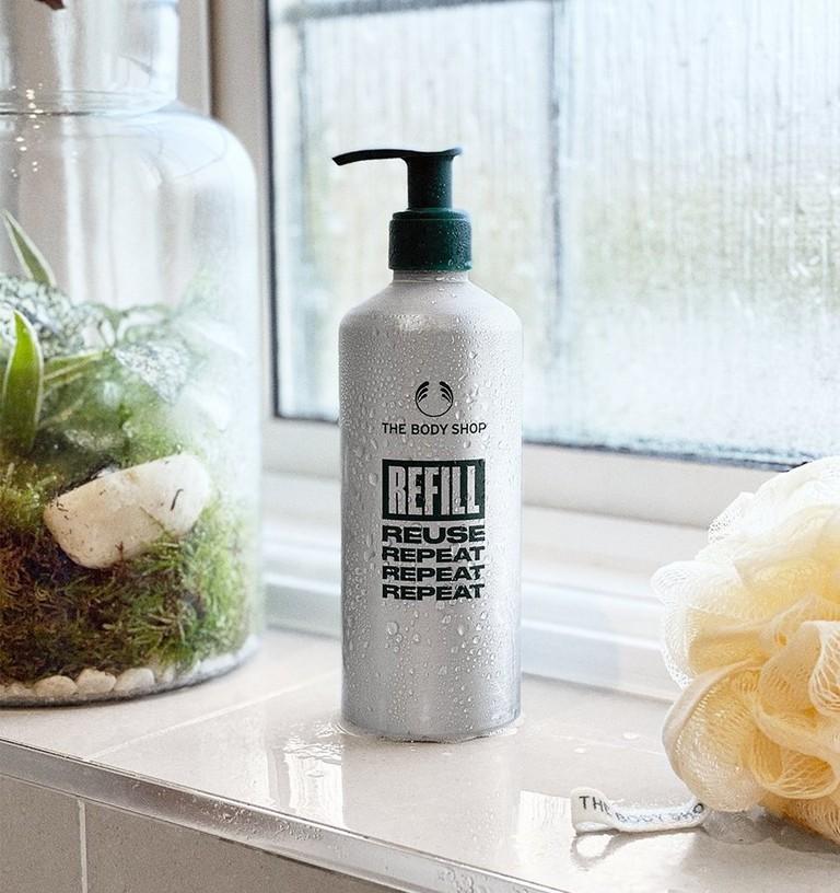Aluminium-Refill-Flasche