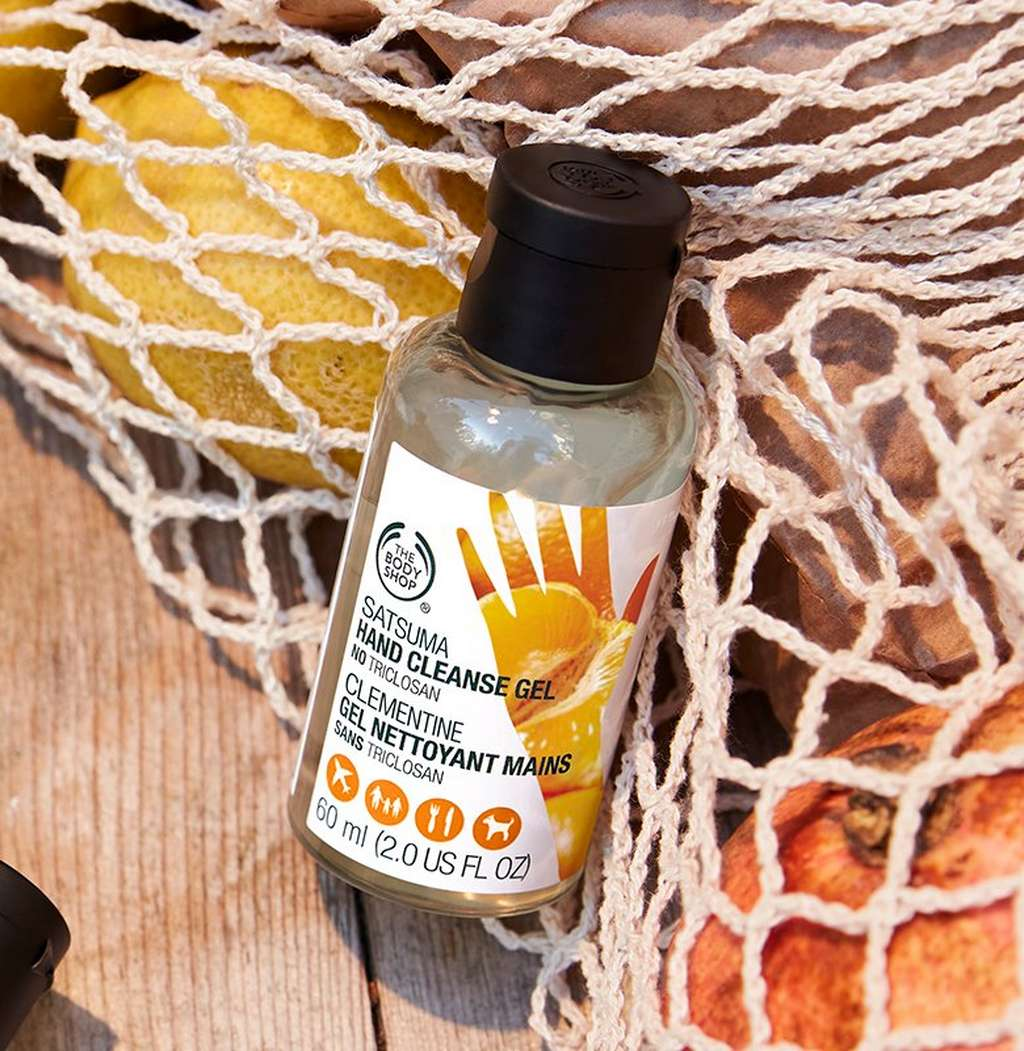 Satsuma hand cleanse gel