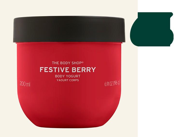 Festive Berry Body Yogurt