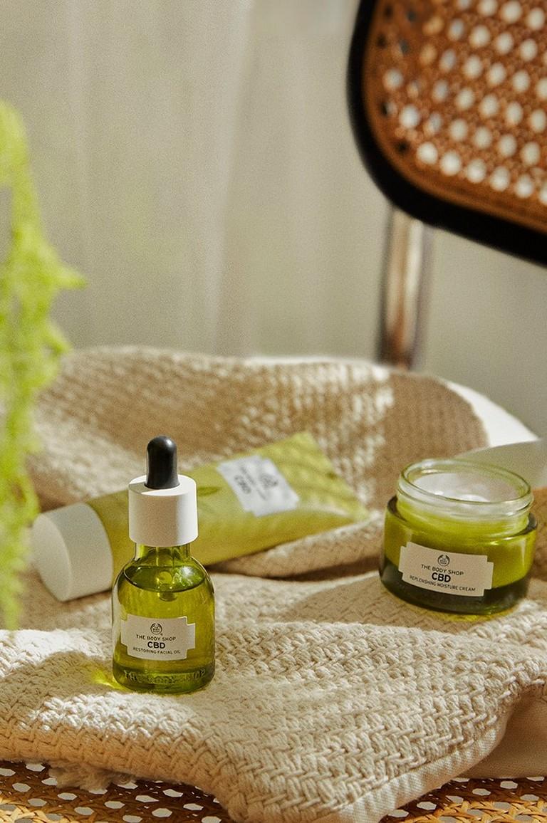 CBD Skincare range