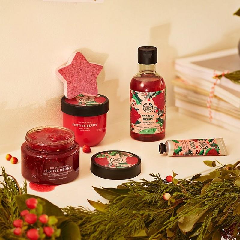 The Body Shop Festive Berries Seasonal Range