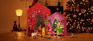 Group shot of advent calendars