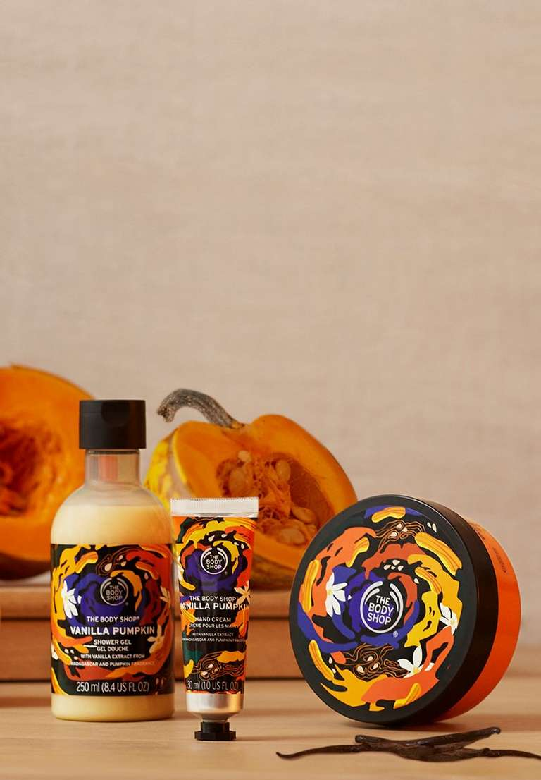 Vanilla Pumpkin Body Care