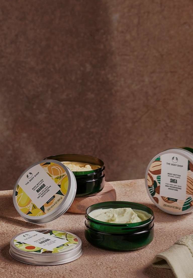 Body butter range shots