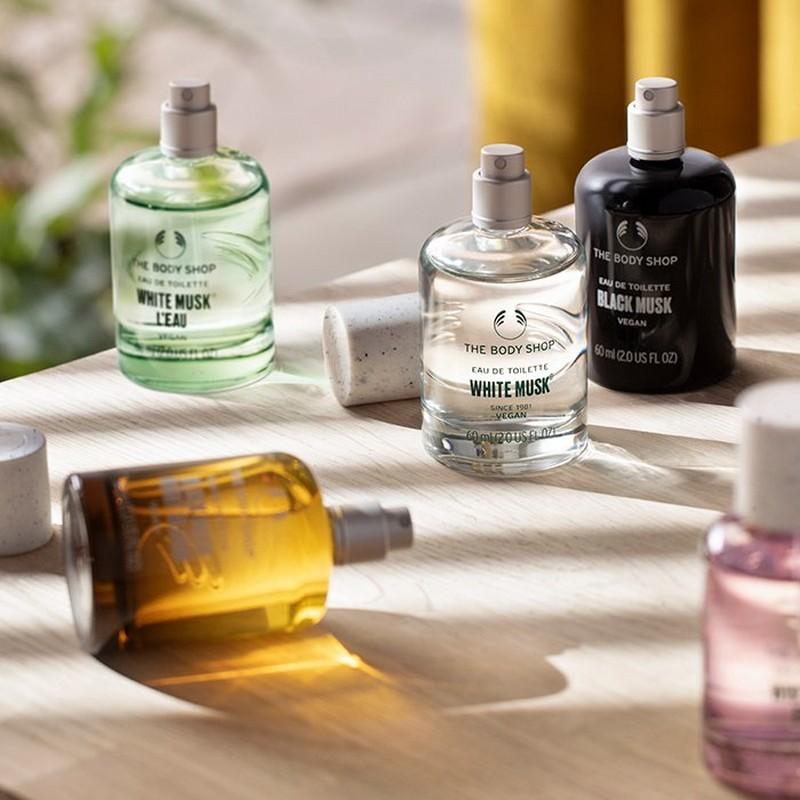 The Body Shop White Musk range