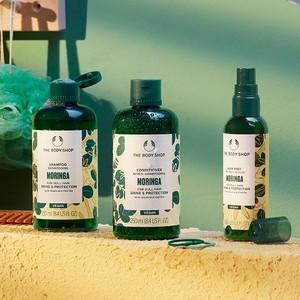Moringa haircare range