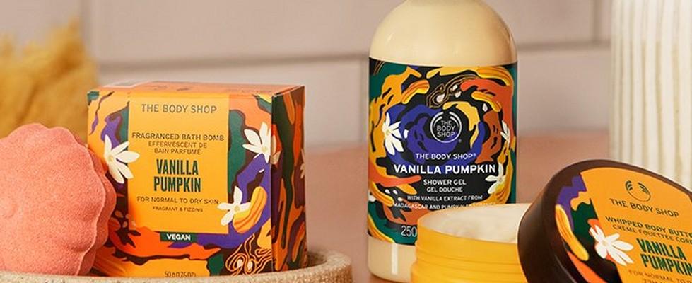Vanilla Pumpkin range