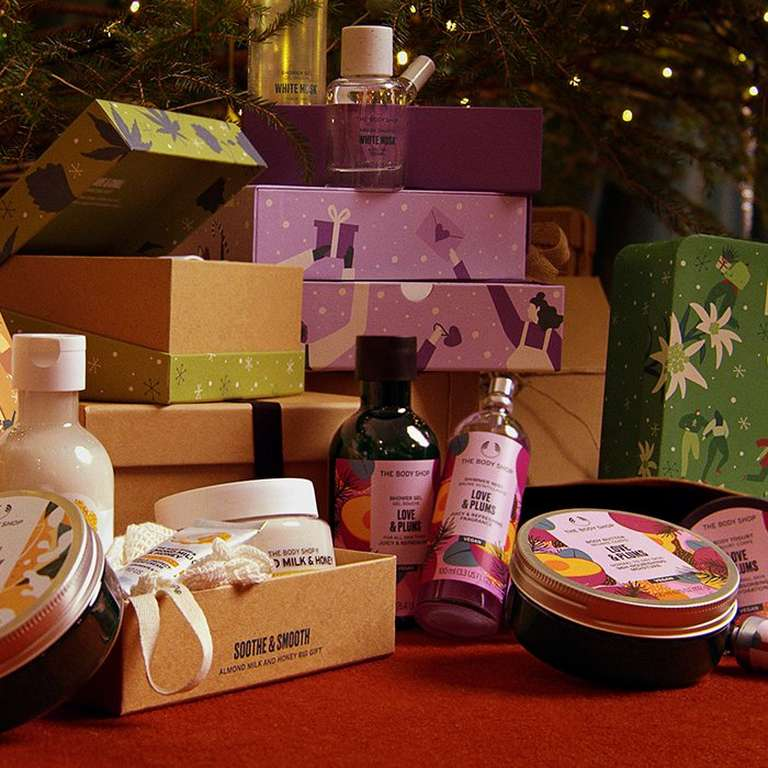 The Body Shop gifts over £25