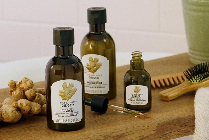 Ginger Haarpflegeserie von The Body Shop