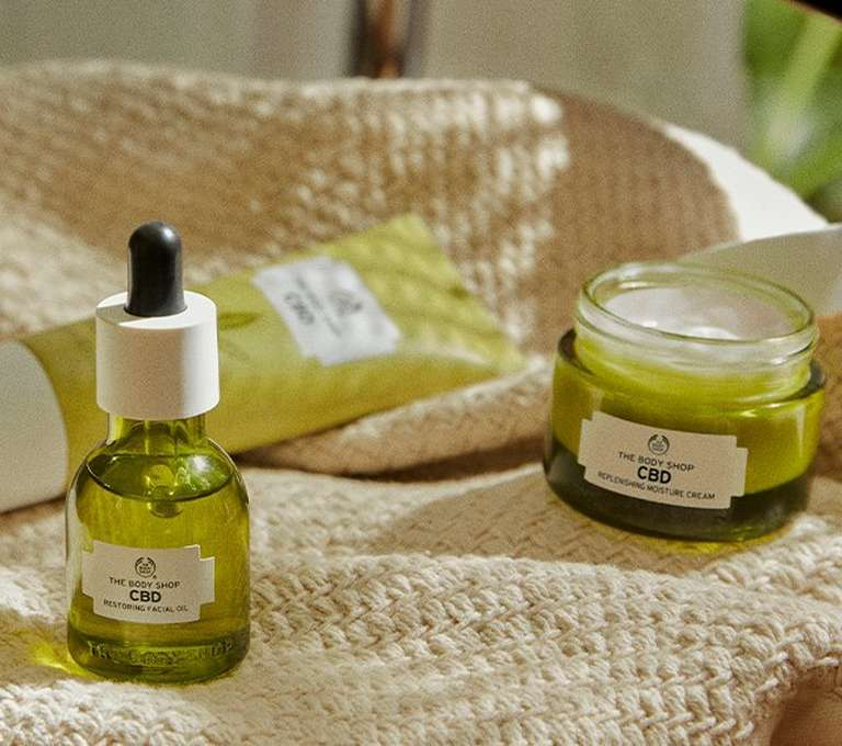 The Body Shop CBD Products
