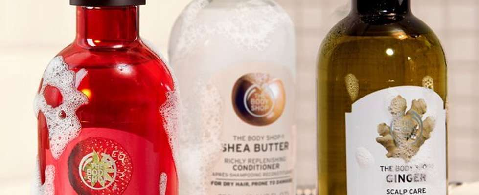 The Body Shop Shampoo Strawberry Shea Ginger