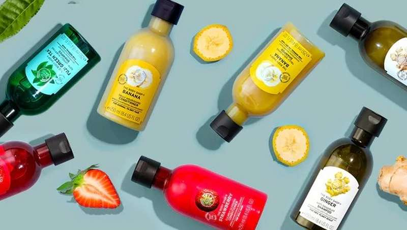 The Body Shop shampoos