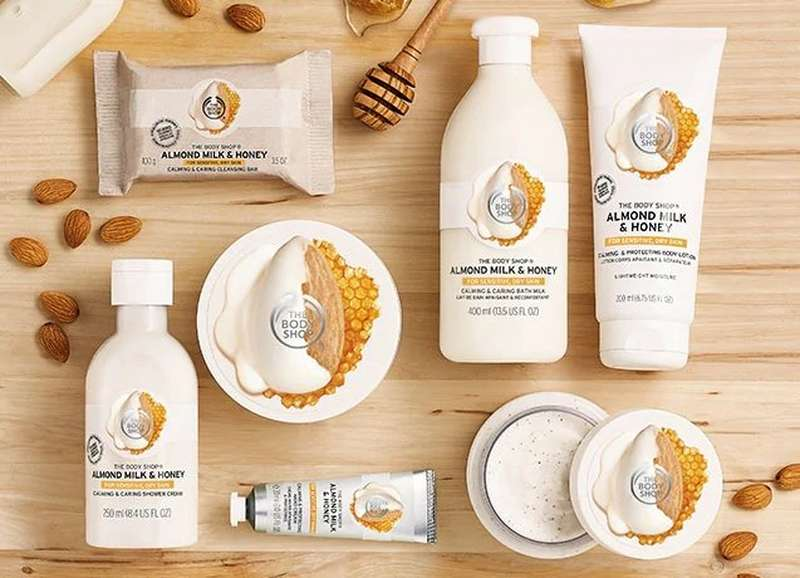 THE BODY SHOP HONEY PRODUCTS