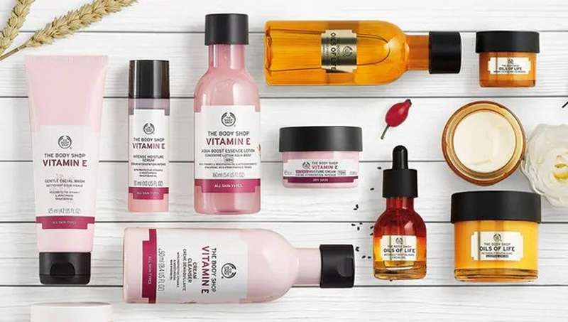 THE BODY SHOP DRY SKIN PRODUCTS