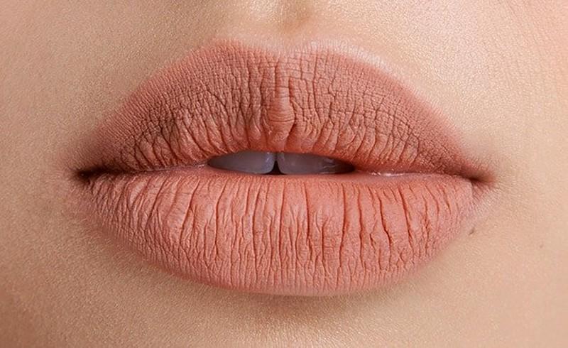 Nahaufnahme von Lippen