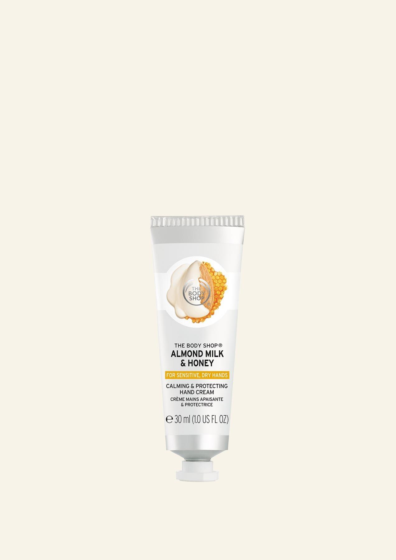 The Body Shop Almond Milk & Honey Calming & Protecting Hand Cream 30ml