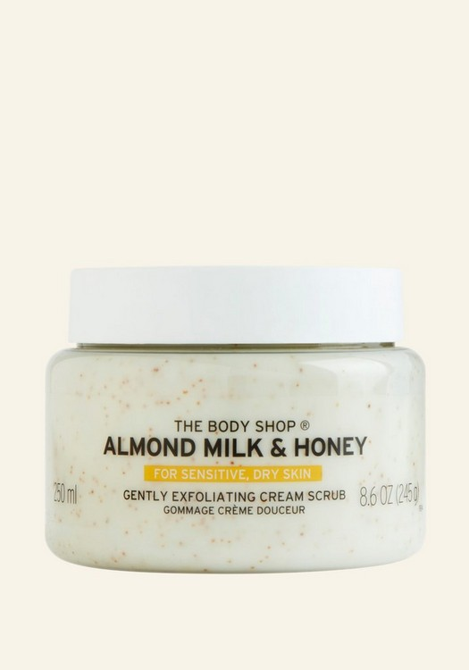 Almond Milk & Honey Gently Exfoliating Cream Scrub 250ml