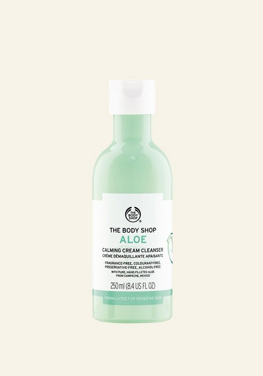 Aloe Vera Calming Cream Cleanser 250 ML
