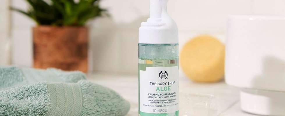 Nettoyant Doux Visage Aloe Vera The Body Shop