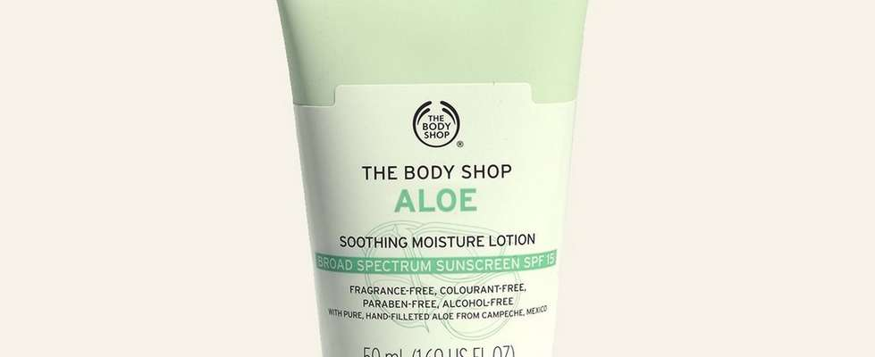 The Body Shop Aloe spf