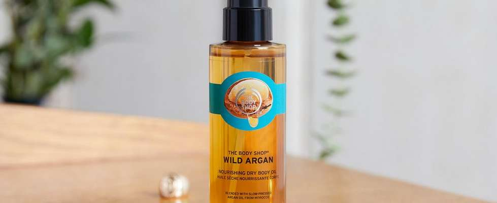The Body Shop Wild Argan Dry Body Oil