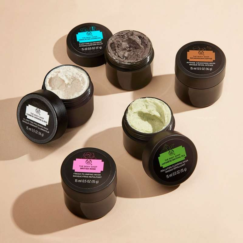 The Body Shop Face Mask products