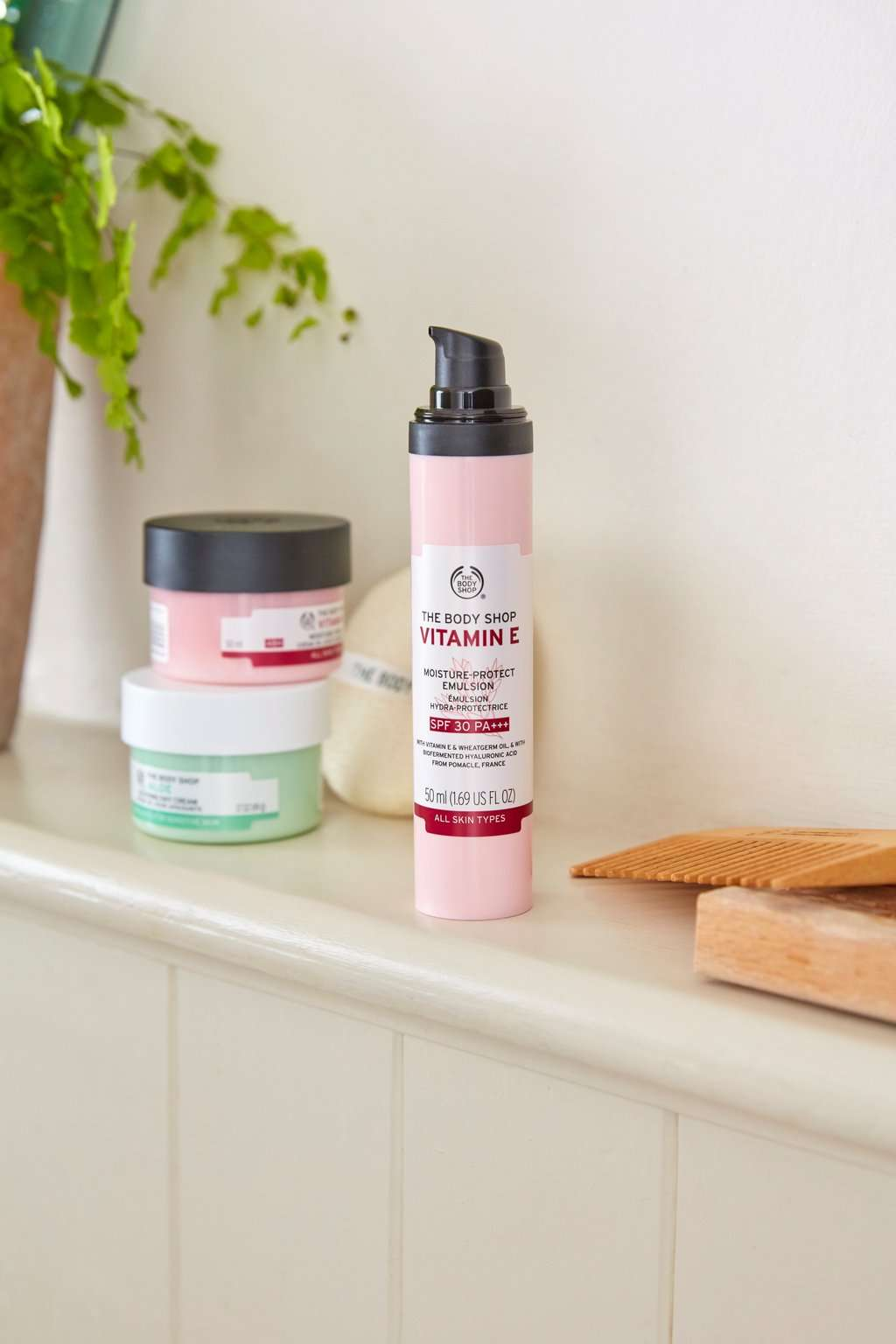 The Body Shop Vitamin E Moisture Protect Emulsion