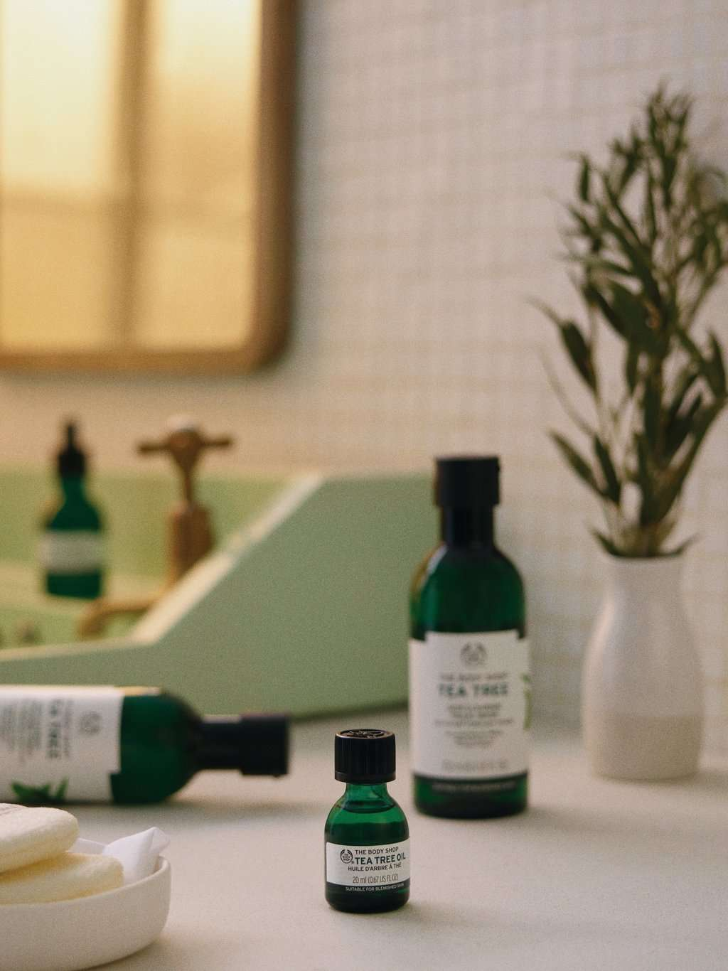 Tea Tree-Produkte von The Body Shop