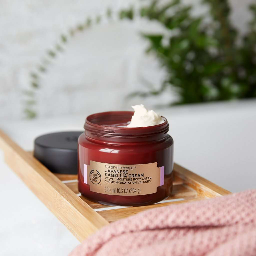 The Body Shop Japanese Camellia Cream