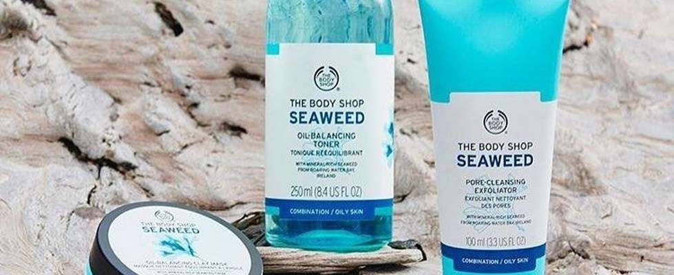 The Body Shop Seaweed products