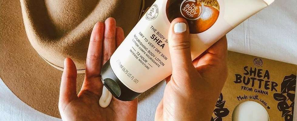 The Body Shop Shea Butter Lotion