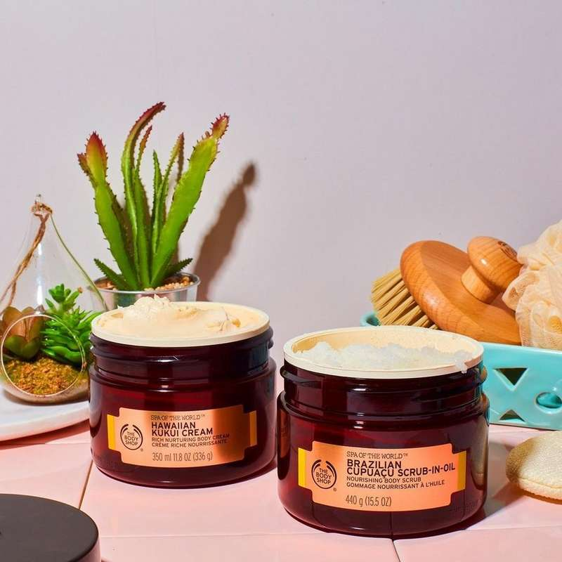 The Body Shop Spa of the World products