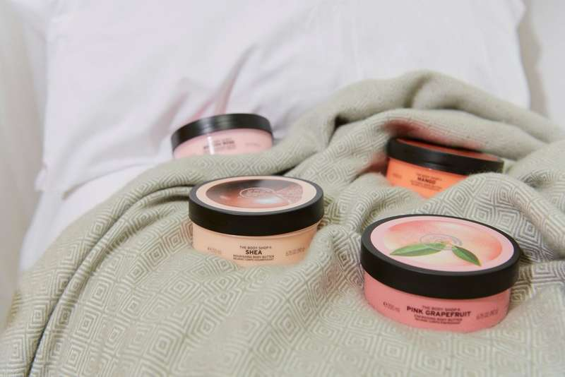 The Body Shop Body Butter products
