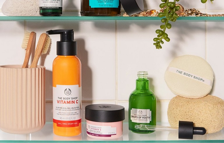 The Body Shop Skincare products