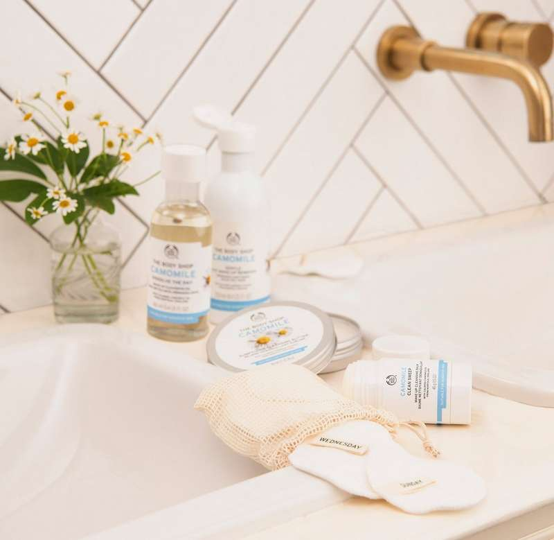 Camomile cleansing range
