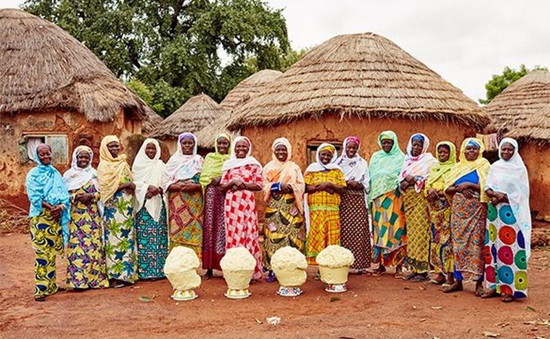 Grupp av kvinnor