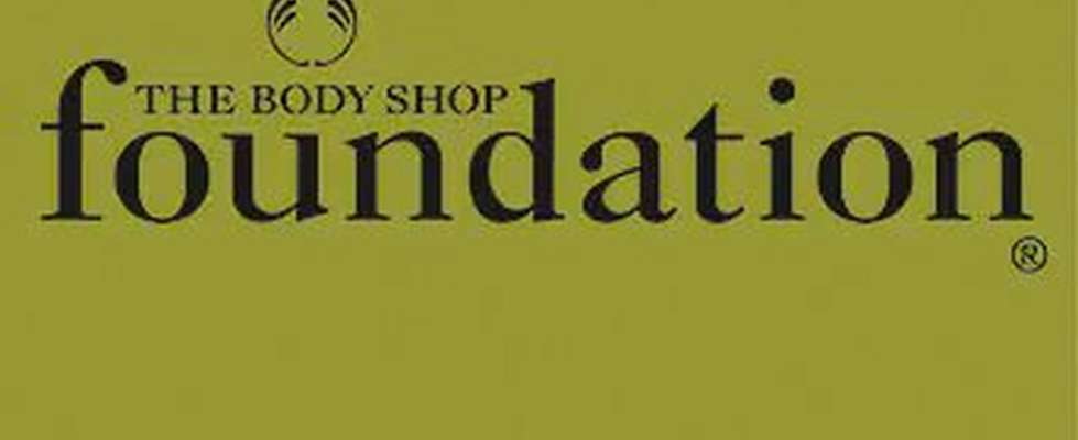 Logotyp för The Body Shop Foundation